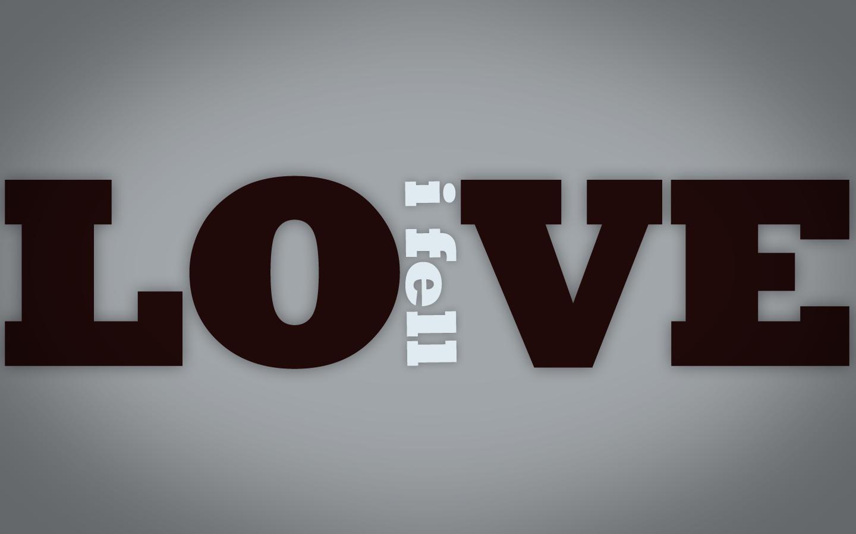 i_fell_in_love