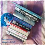 Monatsrückblick 08/2020 – Leseflaute und Lesehoch