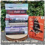 Monatsrückblick 09/2020 – Ein durchwachsener (Lese-)Monat